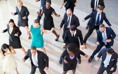 Dans til firma fest JPG til browser