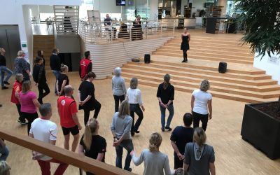 Danseundervisning som workshops