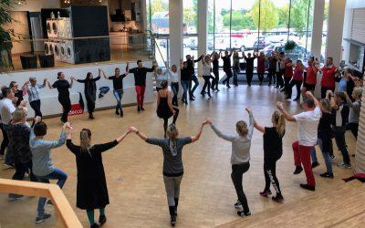 Danseundervisning til firmaarrangementer