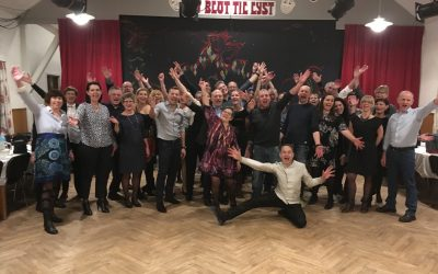 Danseundervisning i Riverdance